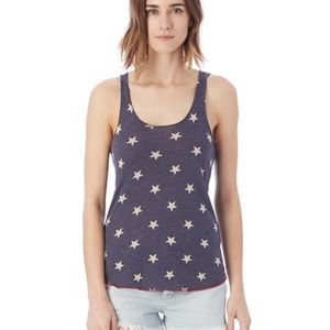 Alternative Apparel Meegs Eco-Jersey Stars Tank🌟